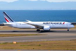 Shimejiさんが、中部国際空港で撮影したエールフランス航空 787-9の航空フォト(飛行機 写真・画像)