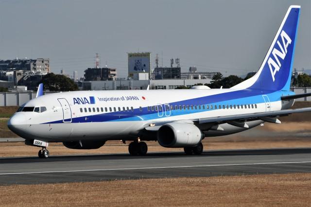 k-spotterさんが、伊丹空港で撮影した全日空 737-881の航空フォト(飛行機 写真・画像)