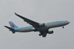 kuro2059さんが、中部国際空港で撮影した大韓航空 A330-323Xの航空フォト(飛行機 写真・画像)