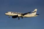 Frankspotterさんが、フランクフルト国際空港で撮影したフィンエアー A320-214の航空フォト(飛行機 写真・画像)
