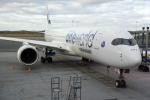 panchiさんが、ヘルシンキ空港で撮影したフィンエアー A350-941XWBの航空フォト(飛行機 写真・画像)