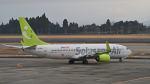 オキシドールさんが、鹿児島空港で撮影したソラシド エア 737-81Dの航空フォト(飛行機 写真・画像)