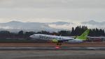 オキシドールさんが、鹿児島空港で撮影したソラシド エア 737-86Nの航空フォト(飛行機 写真・画像)