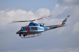 turenoアカクロさんが、名古屋飛行場で撮影した岐阜県警察 412EPの航空フォト(飛行機 写真・画像)