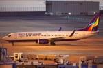 あお♪さんが、中部国際空港で撮影したウルムチエア 737-86Wの航空フォト(飛行機 写真・画像)