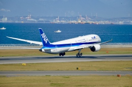 Suzukenさんが、中部国際空港で撮影した全日空 787-9の航空フォト(飛行機 写真・画像)