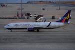 yabyanさんが、中部国際空港で撮影したウルムチエア 737-86Wの航空フォト(飛行機 写真・画像)