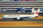 ちっとろむさんが、羽田空港で撮影した日本航空 767-346/ERの航空フォト(飛行機 写真・画像)