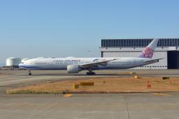 ktaroさんが、関西国際空港で撮影したチャイナエアライン 777-309/ERの航空フォト(飛行機 写真・画像)