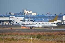 SKY☆101さんが、成田国際空港で撮影したジェット・アビエーション・ビジネス・ジェット BD-700-1A11 Global 5000の航空フォト(飛行機 写真・画像)