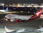 つばさ283さんが、羽田空港で撮影したカンタス航空 747-438/ERの航空フォト(飛行機 写真・画像)