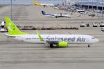 yabyanさんが、中部国際空港で撮影したソラシド エア 737-881の航空フォト(飛行機 写真・画像)
