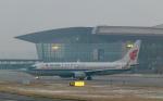 jjieさんが、北京首都国際空港で撮影した中国国際航空 737-89Lの航空フォト(飛行機 写真・画像)
