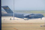 yabyanさんが、中部国際空港で撮影したアメリカ空軍 C-17A Globemaster IIIの航空フォト(飛行機 写真・画像)