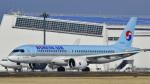 パンダさんが、成田国際空港で撮影した大韓航空 A220-300 (BD-500-1A11)の航空フォト(飛行機 写真・画像)