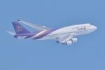 ジェットジャンボさんが、新千歳空港で撮影したタイ国際航空 747-4D7の航空フォト(飛行機 写真・画像)