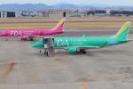みのフォトグラファさんが、名古屋飛行場で撮影したフジドリームエアラインズ ERJ-170-200 (ERJ-175STD)の航空フォト(飛行機 写真・画像)