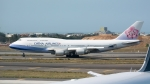 coolinsjpさんが、台湾桃園国際空港で撮影したチャイナエアライン 747-409の航空フォト(飛行機 写真・画像)