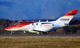 Airway-japanさんが、函館空港で撮影したウィルミントン・トラスト・カンパニー HA-420の航空フォト(飛行機 写真・画像)