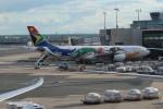 チーフさんが、フランクフルト国際空港で撮影した南アフリカ航空 A340-313Xの航空フォト(飛行機 写真・画像)