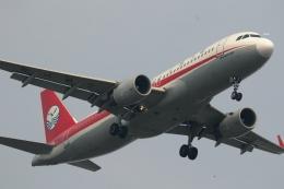 GNPさんが、スワンナプーム国際空港で撮影した四川航空 A320-214の航空フォト(飛行機 写真・画像)
