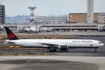 kikiさんが、羽田空港で撮影したエア・カナダ 777-333/ERの航空フォト(飛行機 写真・画像)