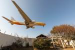 BENKIMAN-ENLさんが、成田国際空港で撮影したノックスクート 777-212/ERの航空フォト(飛行機 写真・画像)