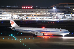 SGR RT 改さんが、羽田空港で撮影した中国国際航空 A330-343Xの航空フォト(飛行機 写真・画像)