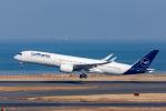 ぱん_くまさんが、羽田空港で撮影したルフトハンザドイツ航空 A350-941XWBの航空フォト(飛行機 写真・画像)
