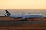 Wasawasa-isaoさんが、中部国際空港で撮影したキャセイパシフィック航空 A350-1041の航空フォト(飛行機 写真・画像)