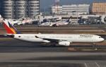 鉄バスさんが、羽田空港で撮影したフィリピン航空 A330-343Xの航空フォト(飛行機 写真・画像)