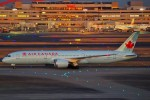 ちっとろむさんが、羽田空港で撮影したエア・カナダ 787-9の航空フォト(飛行機 写真・画像)