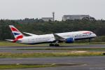 ぱん_くまさんが、成田国際空港で撮影したブリティッシュ・エアウェイズ 787-9の航空フォト(飛行機 写真・画像)
