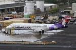 Hiro-hiroさんが、ダニエル・K・イノウエ国際空港で撮影したハワイアン航空 717-22Aの航空フォト(飛行機 写真・画像)