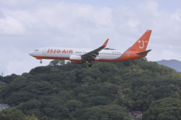 a.mashimaさんが、福岡空港で撮影したチェジュ航空 737-8ALの航空フォト(飛行機 写真・画像)