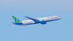 FLYPEAKSさんが、関西国際空港で撮影したバンブー・エアウェイズ 787-9の航空フォト(飛行機 写真・画像)