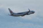 JA1118Dさんが、北京首都国際空港で撮影した大連航空 737-89Lの航空フォト(飛行機 写真・画像)