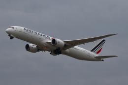 Sharp Fukudaさんが、関西国際空港で撮影したエールフランス航空 787-9の航空フォト(飛行機 写真・画像)