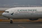 Sharp Fukudaさんが、関西国際空港で撮影したキャセイパシフィック航空 777-367の航空フォト(飛行機 写真・画像)