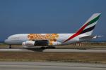 Sharp Fukudaさんが、ニース・コートダジュール空港で撮影したエミレーツ航空 A380-861の航空フォト(飛行機 写真・画像)