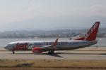 Sharp Fukudaさんが、ニース・コートダジュール空港で撮影したジェット・ツー 737-8MGの航空フォト(飛行機 写真・画像)