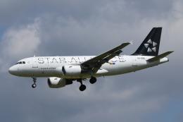 Sharp Fukudaさんが、ブリュッセル国際空港で撮影したチュニスエア A320-214の航空フォト(飛行機 写真・画像)