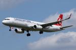 Sharp Fukudaさんが、ブリュッセル国際空港で撮影したターキッシュ・エアラインズ A321-231の航空フォト(飛行機 写真・画像)