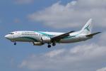 Sharp Fukudaさんが、ブリュッセル国際空港で撮影したテイルウィンド・エアラインズ 737-4Q8の航空フォト(飛行機 写真・画像)