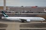 kikiさんが、羽田空港で撮影したキャセイパシフィック航空 777-367/ERの航空フォト(飛行機 写真・画像)