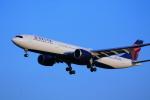 torukutune203さんが、成田国際空港で撮影したデルタ航空 A330-941の航空フォト(飛行機 写真・画像)
