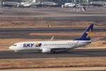 KAZFLYERさんが、羽田空港で撮影したスカイマーク 737-8FZの航空フォト(飛行機 写真・画像)