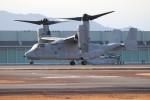 ゆう改めてさんが、熊本空港で撮影したアメリカ海兵隊 MV-22Bの航空フォト(飛行機 写真・画像)