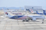FLYING  HONU好きさんが、関西国際空港で撮影したマレーシア航空 A350-941の航空フォト(飛行機 写真・画像)