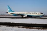 北の熊さんが、新千歳空港で撮影した厦門航空 737-85Cの航空フォト(飛行機 写真・画像)